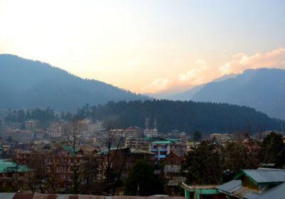 Manali View from Hotel Shandela terrace